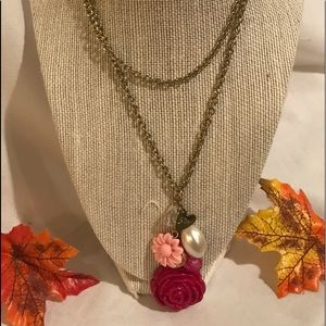 """Chain Necklace Gold Tone 30"""", Large Lopster Claw,"""